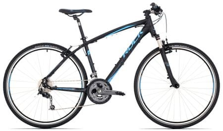 "Rock Machine CrossRide 750 16,5"" black/blue/grey"