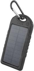 Forever solarny Powerbank PB-016 TFO 5000 mAh, czarny BAEPOWER5000SOBK