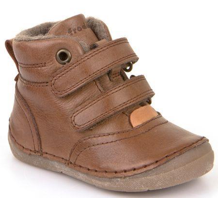 73668fb78de Froddo chlapecké kotníčkové boty 23 hnědá