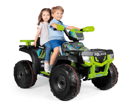 PEG otroško električno vozilo Polaris Sportsman 850, 24 V, zeleno