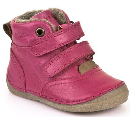 Froddo dívčí kotníčkové boty 22 růžová  f122a75f0c