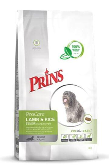 Prins hrana za pse ProCare Lamb&Rice Senior Hypoallergic, 3 kg