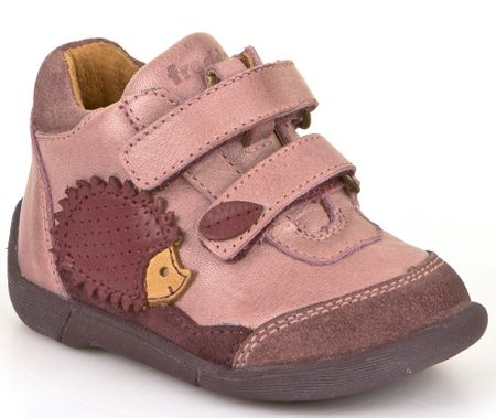 e8c0e5be9fb Froddo dívčí kotníčkové boty 21 růžová