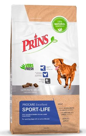 Prins hrana za pse ProCare Sport-Life Excellent, 15 kg