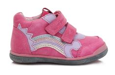 Ponte 20 dívčí kožené boty s duhou