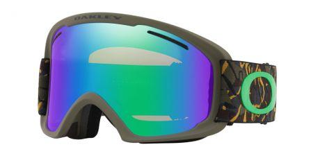 Oakley gogle narciarskie O Frame 2.0 XL CamoVineJungle w/ Jade&Pers. Iridium