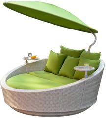 Igotherm SHELL Sluneční postel - šedá