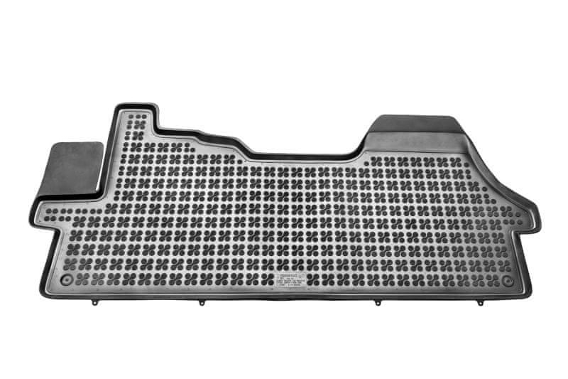 REZAW-PLAST Gumové koberce, 1 ks (1x spojený přední), Citroen Jumper II, Fiat Ducato II, Peugeot Boxer II od r. 2006