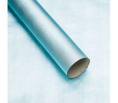 Giftisimo Luxusní strukturovaný balicí papír, ledově modrý, vzor síťka, 5 archů