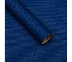 Giftisimo Balicí papír, natura, tmavě modrý, 5 archů