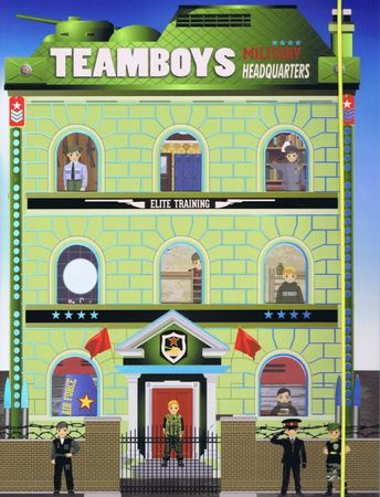 autor neuvedený: Teamboys-Military Headquarters