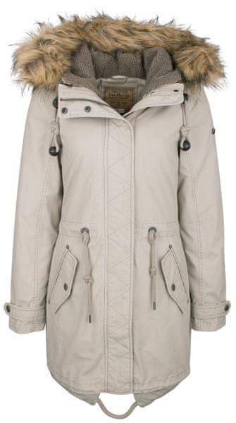 49aebc52f7 DreiMaster dámský kabát XL smetanová