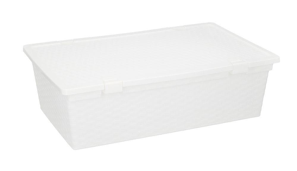 TimeLife Úložný box 30 l, bílá