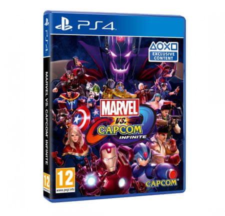 Capcom igra Marvel vs. Capcom Infinite (PS4)