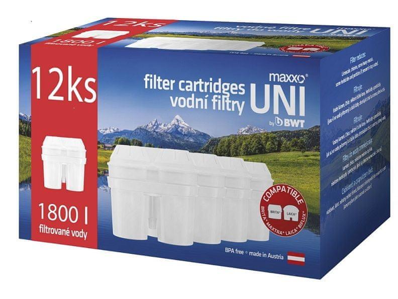 MAXXO UNI filtry 12 ks
