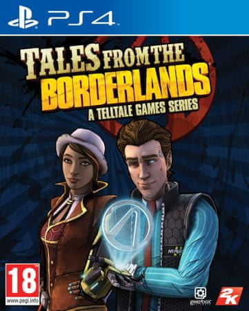 Take 2 Tales From the Borderlands, PS4