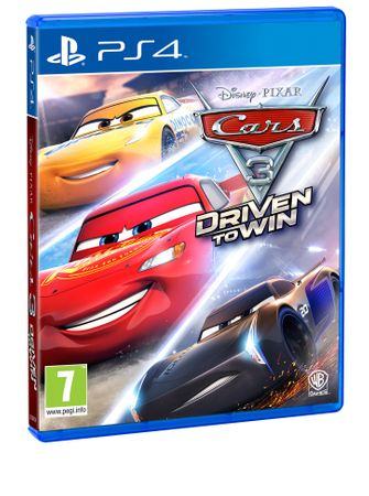 Warner Bros Cars 3 (PS 4)