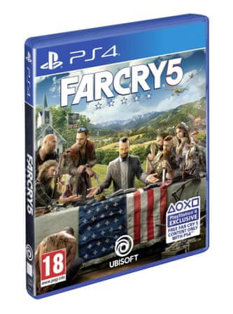 Ubisoft igra Far Cry 5 (PS4)