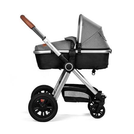 KinderKraft Kombinált 3 az 1- ben VEO Black/Grey