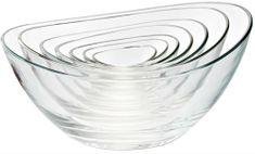 Vidivi set steklenih skled PAPAJA, 7 delni