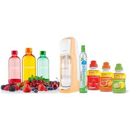 Sodastream JET ORANGE SUMMER PACK