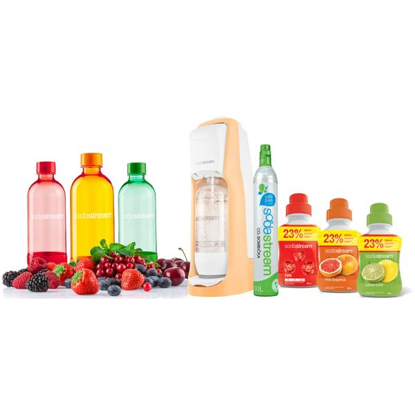 Sodastream JET ORANGE PARTY PACK