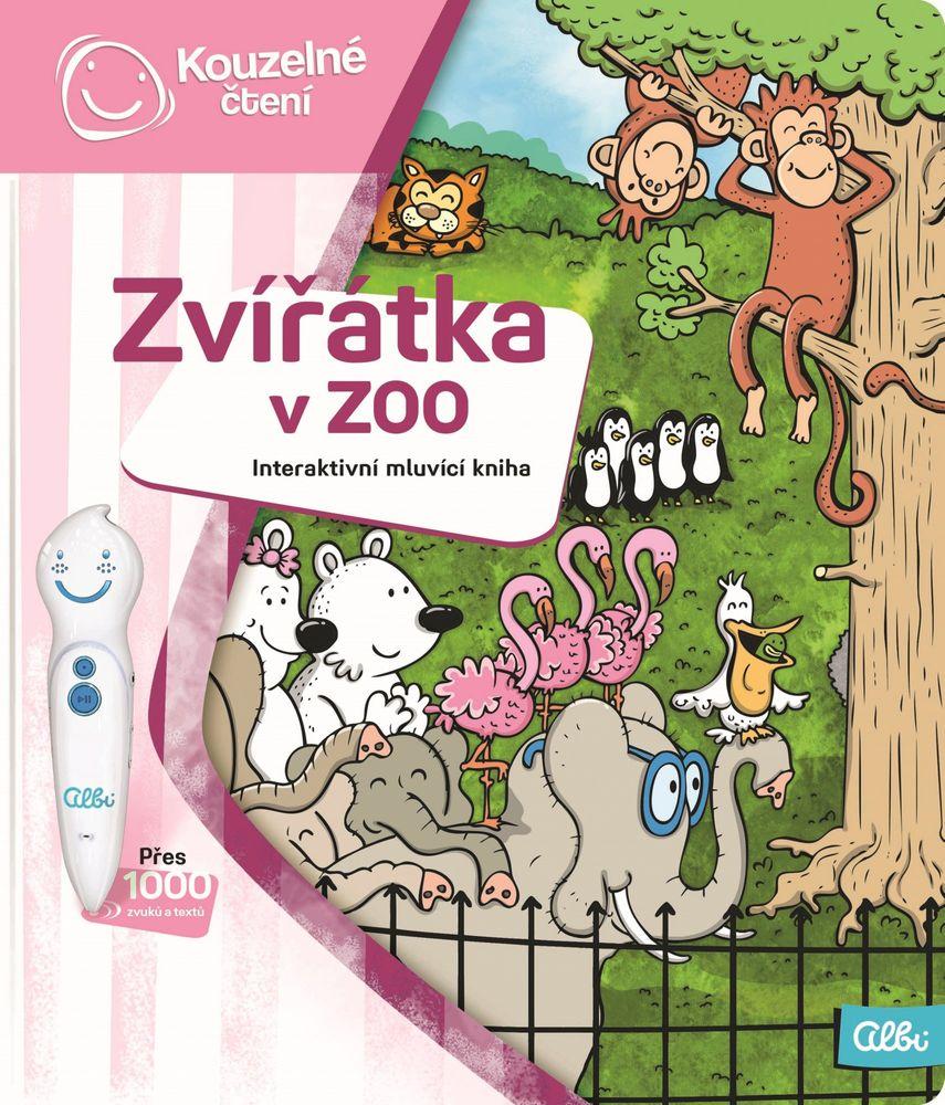 Albi KOUZELNÉ ČTENÍ Kniha Zvířátka v ZOO