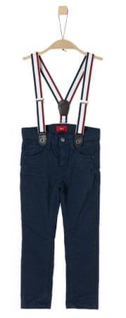 s.Oliver chlapčenské nohavice s trakmi 104 modrá