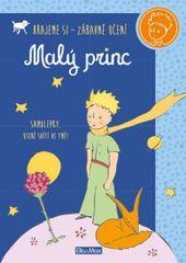 Malý princ - kniha aktivit - modré samolepky