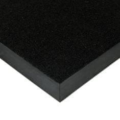 FLOMA Černá kokosová zátěžová vstupní čistící rohož Synthetic Coco - 50 x 80 x 1 cm