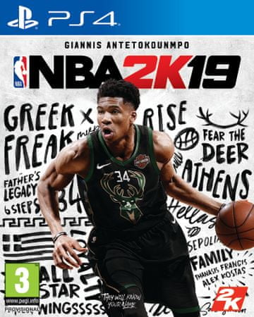 Take 2 igra NBA 2K19 Standard Edition (PS4)