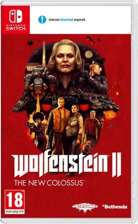 Nintendo igra Wolfenstein II: The New Colossus (Switch)