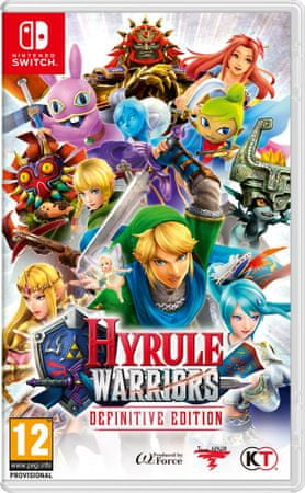Nintendo igra Hyrule Warriors Definitive Edition (Switch)