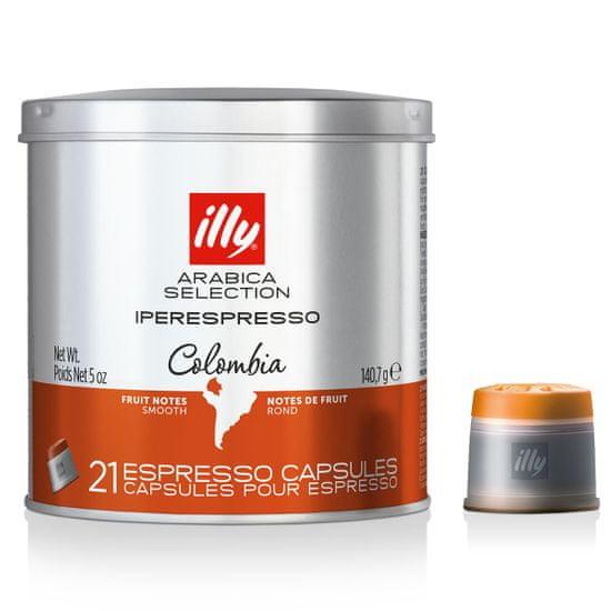 illy Kapsule Iperespresso Monoarabika Colombia 21 ks