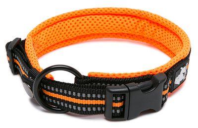 Truelove ovratnica Flex, L črna/oranžna L