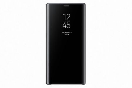 Samsung Galaxy Note 9 flipové pouzdro Clear View se stojánkem, černé EF-ZN960CBEGWW