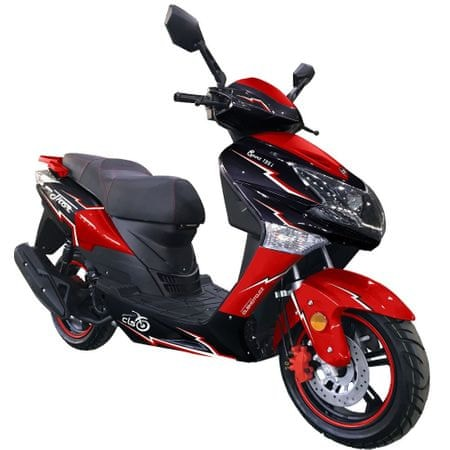 CLS MOTORCYCLE Skútr CLS THOR 125i 6,5 kW červený