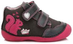 D-D-step dievčenské členkové topánky