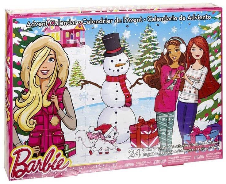 Mattel Barbie Adventní kalendář DMM61