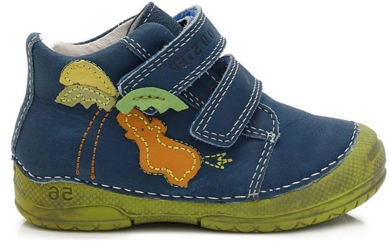 D d step chlapecke kotnikove boty 24 hneda levně  2d75d01a8f