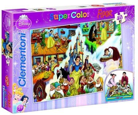 Clementoni puzzle podłogowe Królewna Śnieżka