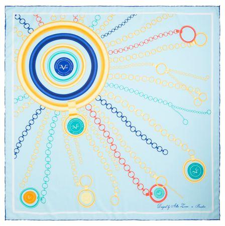 VERSACE 19.69 ženski šal Sunshine, svetlo modra