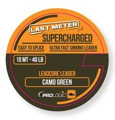 ProLogic Olověná šňůrka Supercharged Leadcore Leader Camo Green 10 m