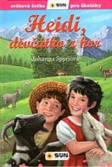 Spyriová Johanna: Heidi, děvčátko z hor - Světová četba pro školáky
