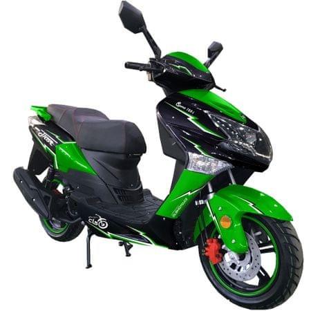 CLS MOTORCYCLE Skútr CLS THOR 125i 6,5 kW  zelený