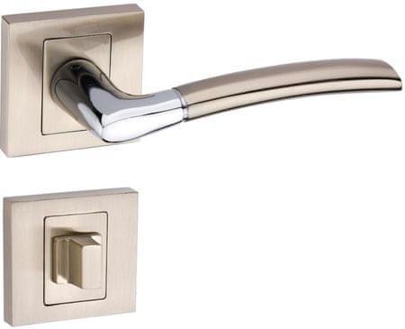 Infinity Line Dalia 100K satina/chrom - kľučka na dvere  - pre wc