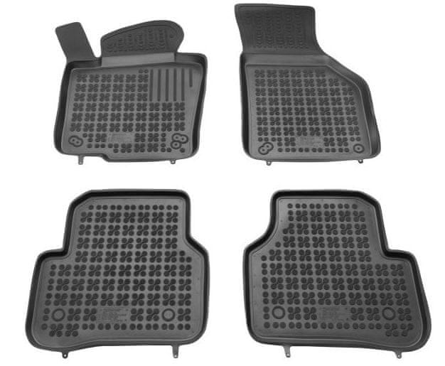 REZAW-PLAST Gumové koberce, 4 ks (2+2), pro vozy typu VW Jetta, Passat, Variant a Tiguan