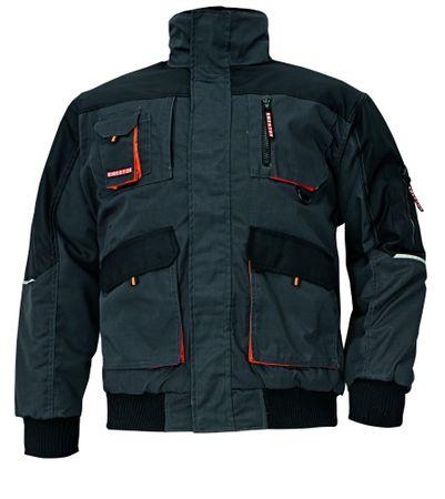 Emerton Zimná montérková bunda Pilot čierna XL