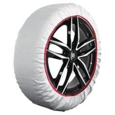 """Sumex Textilní sněhové řetězy  - tzv. ponožky, pro vozy s velikostí kola: 14""""; 15""""; 16""""; 17""""; 18""""; 19""""; 20"""""""