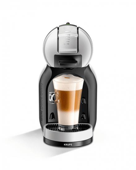 Krups kávovar na kapsle KP123B31 Nescafé Dolce Gusto Mini Me šedé - zánovní